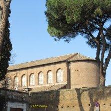 retro Santa Sabina al giardino aranci