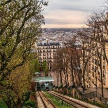 Monmatre Parigi Baudelaire