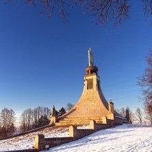 Slavkov-u-brna-Austerliz con la neve