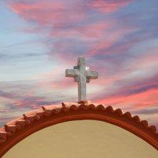 cielo sul monastero San Michele a Panormitis