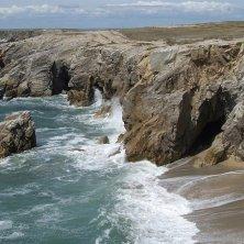 Bretagna costa e maree