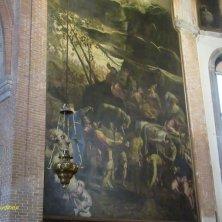 L'adorazione del vello d'oro Tintoretto chiesa Santa Maria dell'Orto Venezia