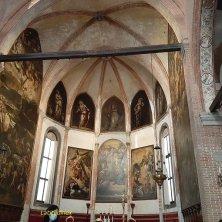 altare chiesa Santa Maria dell'Orto Tintoretto