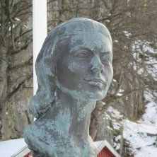 statua di Ingrid Bergman