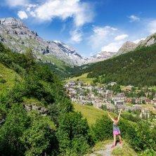 Leukerbad Wandern Sommer ©My Leukerbad AG Vallese d'estate