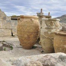 nel sito archeologico Creta