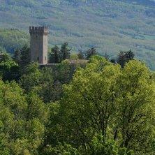 castello e vegetazione