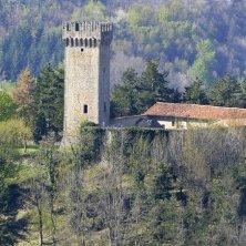 castello medievale a Montese