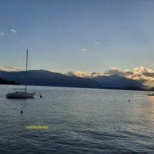 tramonto lago Maggiore