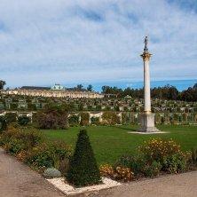 San Souci dal giardino Potsdam