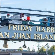 insegna Friday Harbor