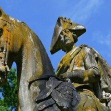 statua di Federico II di Prussia Potsdam