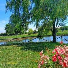 Caorle slow il laghetto del Parco di Altanea_phEVallarin