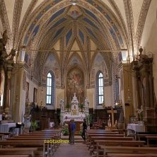 Pieve_Chiesa di San Floriano_interno_fotoEVallarin autunno in Val di Zoldo