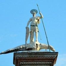San Todaro e il drago colonna