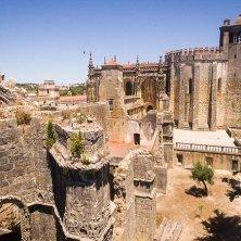 Tomar panorama del castello
