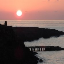 al tramonto isola