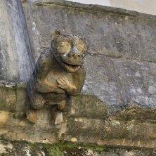 dettagli romanici castello