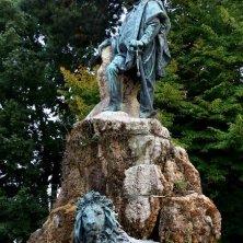 statua Garibaldi giardini della Biennale