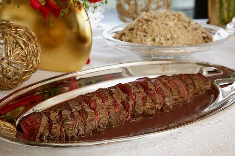 Filet Mignon ao Molho Roti