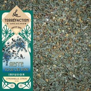 Sieste sous les pins - La Torréfaction d'Arcachon - Thés et infusions - Recettes maison