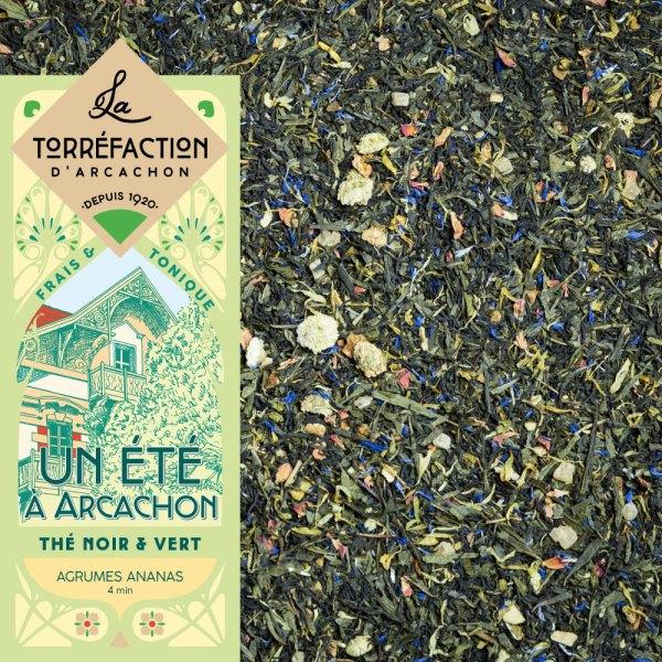 Un été à Arcachon - La Torréfaction d'Arcachon - Thés et infusions - Recettes maison