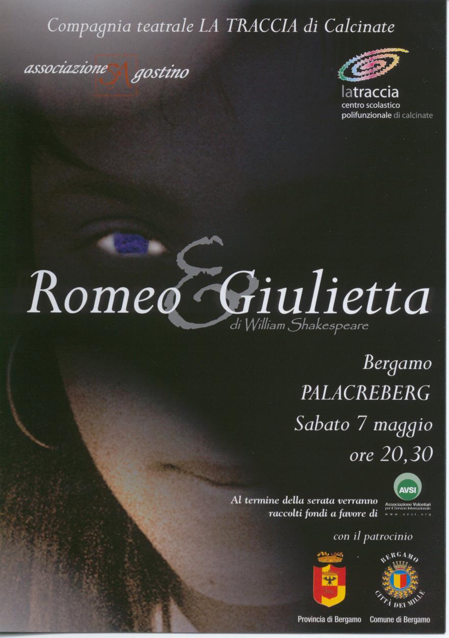 ROMEO e GIULIETTA - Invito_La Traccia
