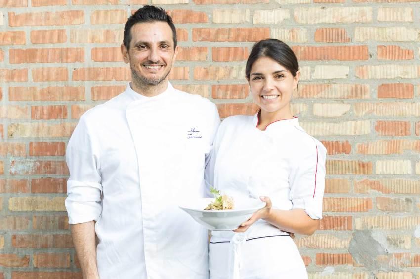 Marco e Gaia, i responsabili della cucina del nostro locale - La Trattoria, ristorante romagnolo a Ravenna