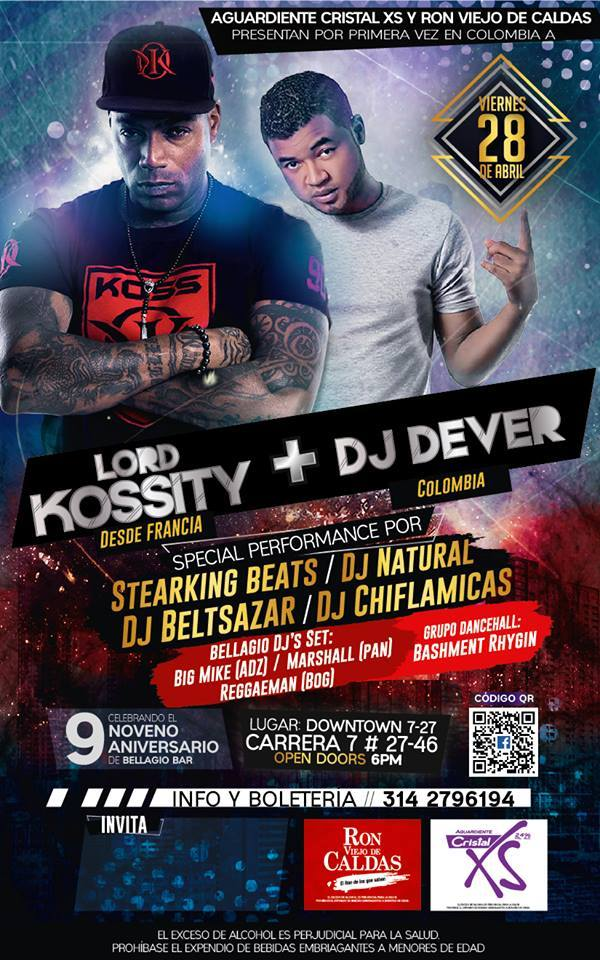 Lord Kossity Por primera Vez En Colombia