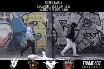 CRACK FAMILY - FUEGO (VÍDEO OFICIAL)
