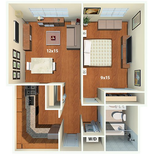 latrobe apartments | washington, dc | floor plans