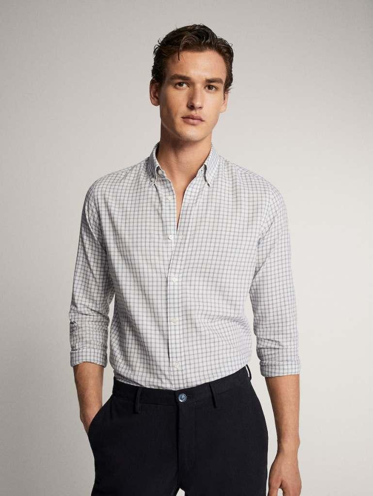 camisa para hombre