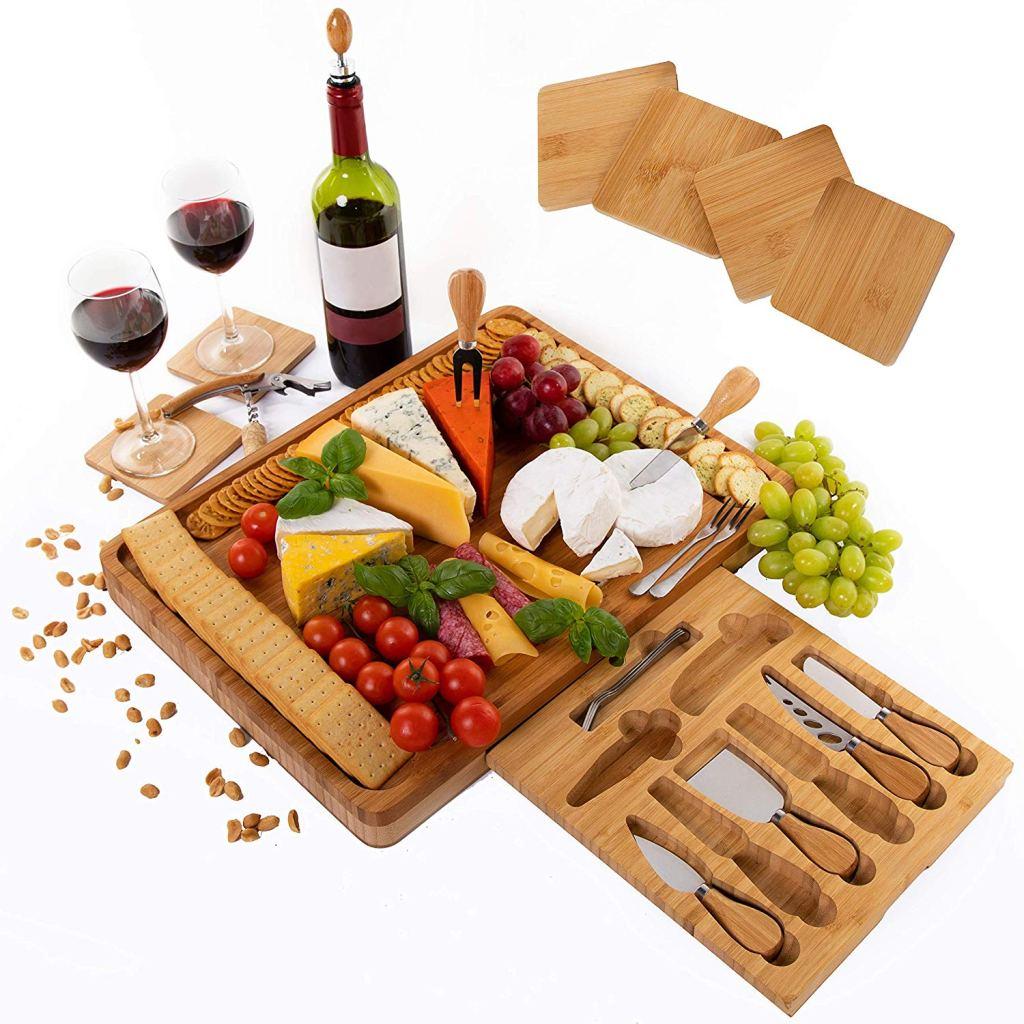 chopping boards y cuchillos de queso