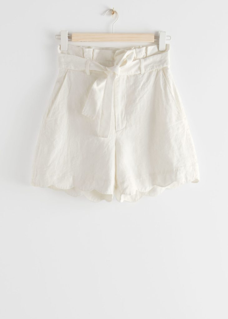 blancos de lino shorts