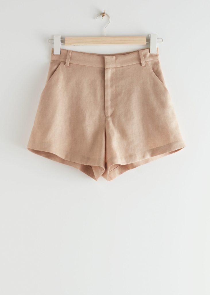 shorts de lino stories