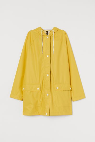 Chubasquero amarillo H&M