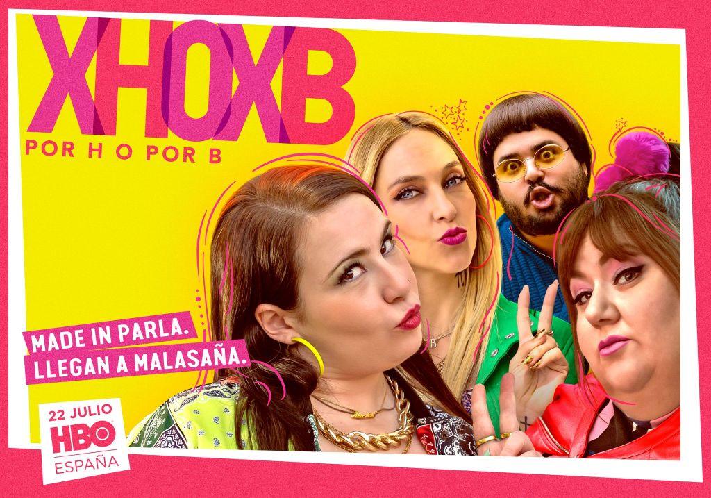 Cartel promocional Por H o por B HBO
