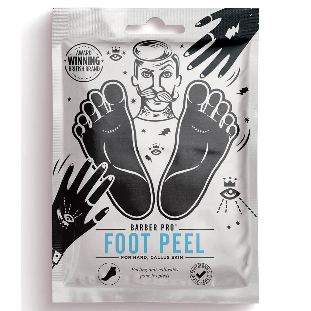 tratamiento peeling pies cosmética masculina