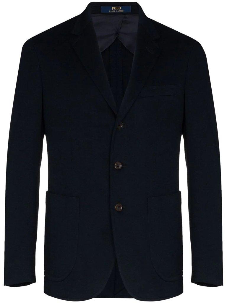 hombre con estilo con blazer Polo Ralph Lauren