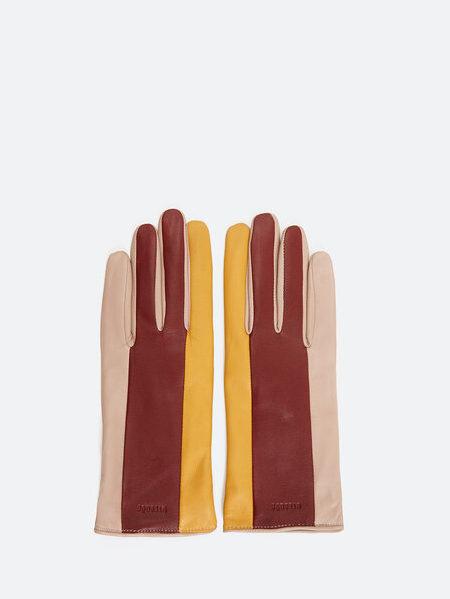 accesorios para el frío guantes de piel uterque