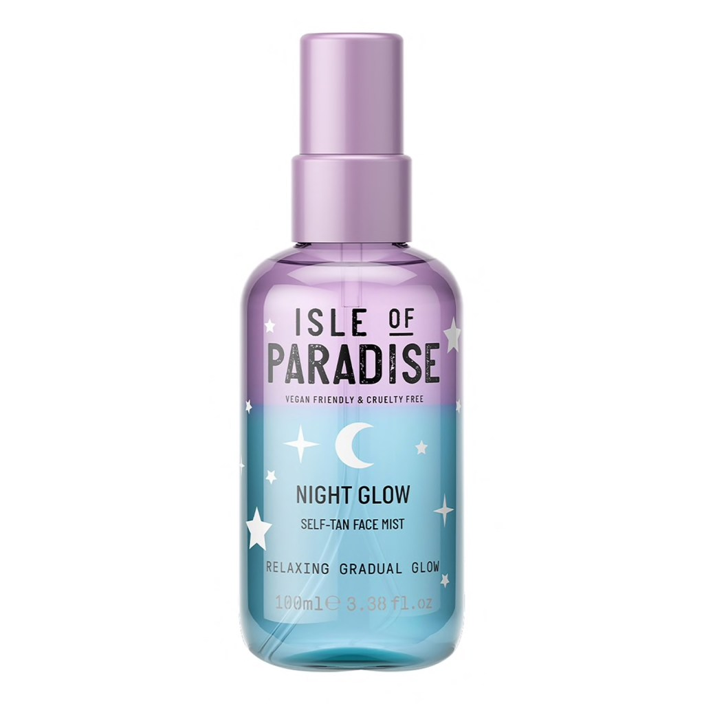 Bruma facial autobronceadora Night Glow Isle of Paradise