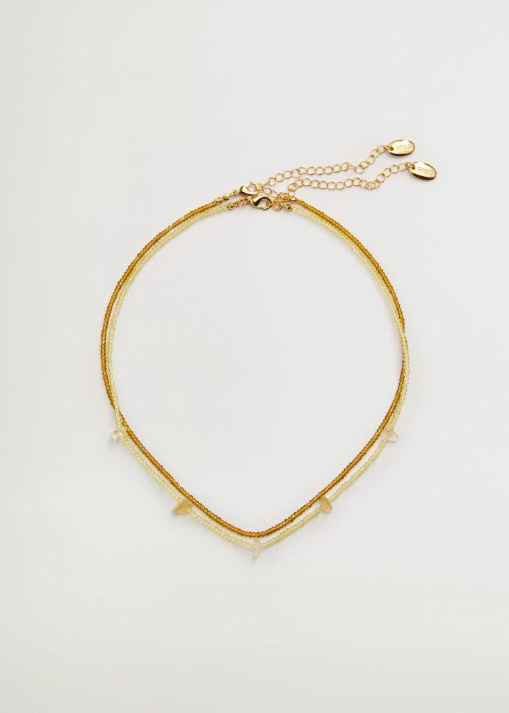 Conjunto de dos collares de MANGO WOMAN
