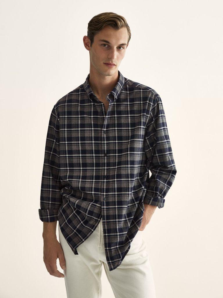 Camisas para un look relajado de Massimo Dutti