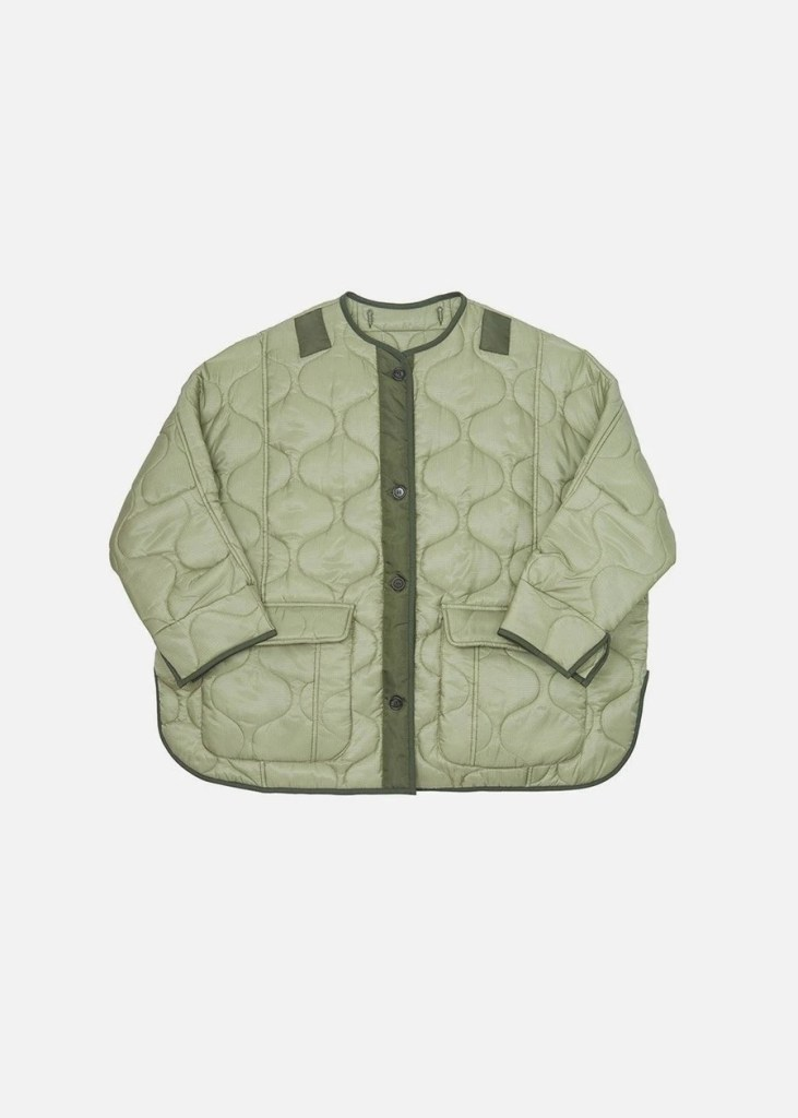Teddy quilted jacket de The Frankie Shop