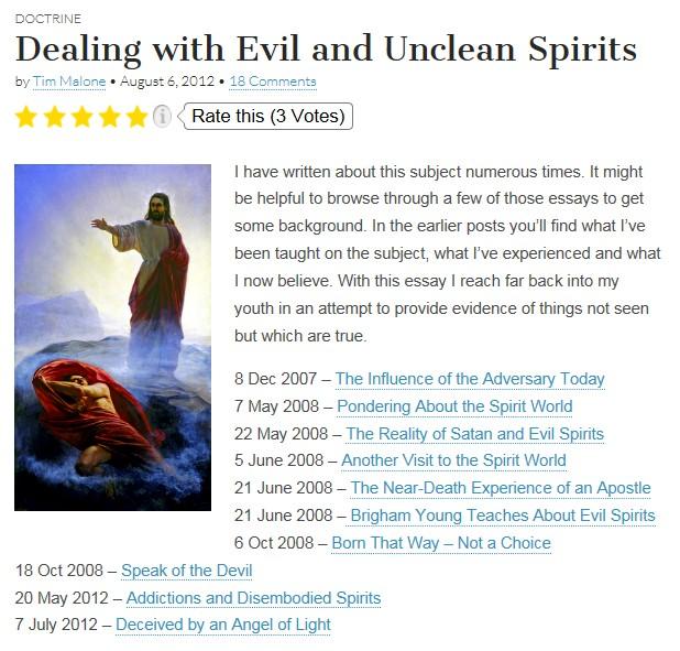 posts-on-evil-spirits
