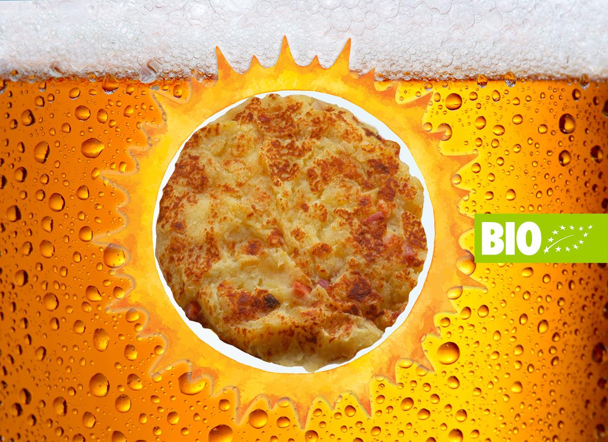 Frico e birra bio