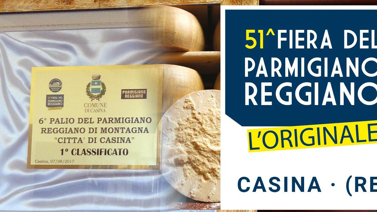 Primo Classificato alla Fiera del Parmigiano Reggiano di Casina 2017