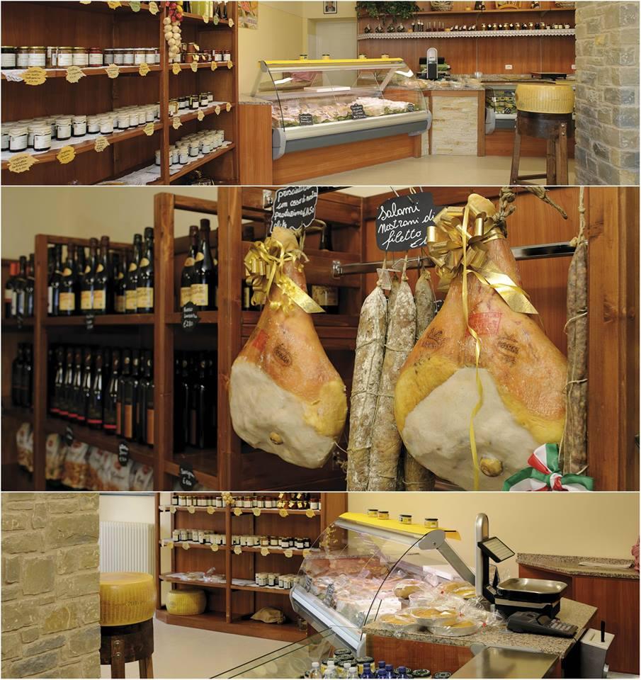 Punto vendita Latteria di Garfagnolo, Parmigiano Reggiano e prodotti tipici