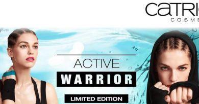 """""""Active Warrior"""": il make-up a prova di fitness!"""