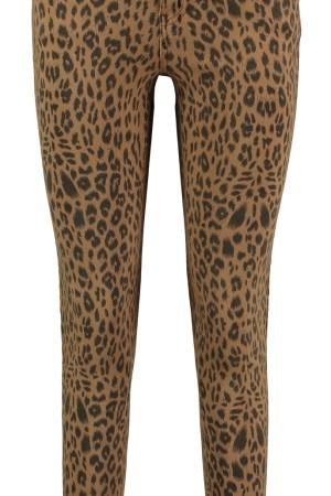 Hailys Jeans - Brown Leopard